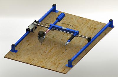 Wood Carving Copy Machine