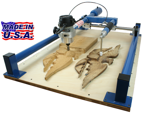 how to build a wood carver duplicator