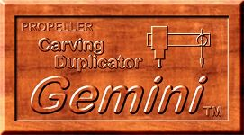 Gemini Propeller Carving Duplicator